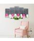 5pc Tulips wall art Sale - FIFTH Sale