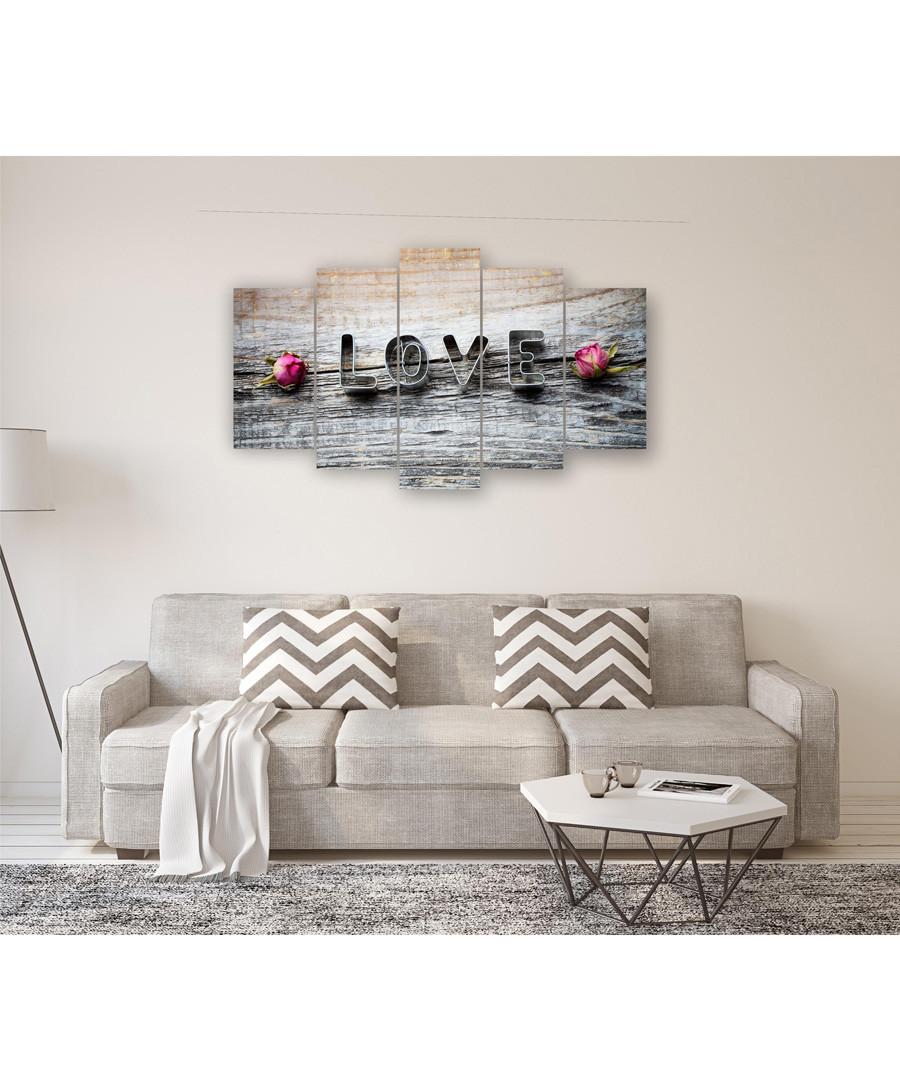 5pc Love wall art Sale - FIFTH