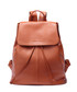 Tan leather drawstring backpack  Sale - woodland leathers Sale