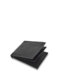 Black leather book wallet