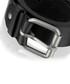 Men's Black leather belt Sale - woodland leather Sale