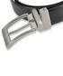 Men's black leather reversible belt Sale - woodland leather Sale