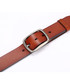 Men's Tan leather adjustable belt  Sale - woodland leathers Sale