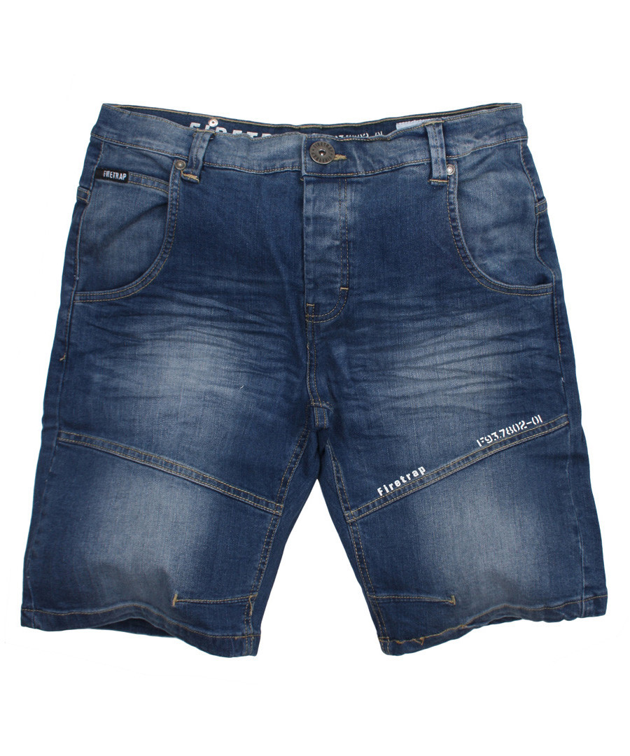 Corry mid wash jean shorts Sale - FIRETRAP