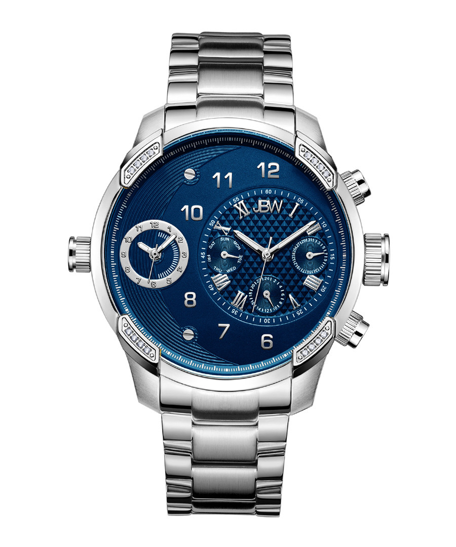 G3 stainless steel & diamond watch Sale - jbw