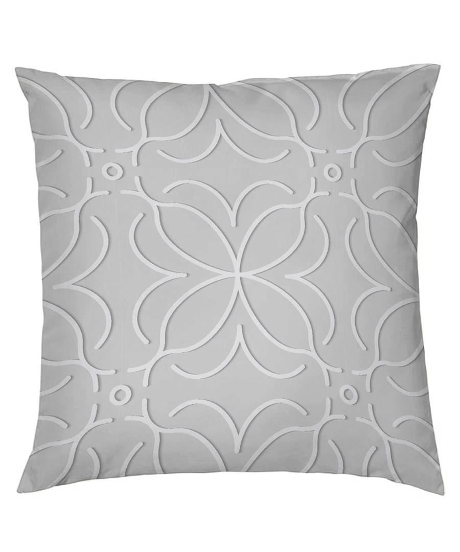 Nordicos grey cotton pillowcase 50cm Sale - pure elegance