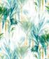 Tropical green cotton double duvet set Sale - pure elegance Sale
