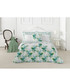 Tropical green cotton single duvet set Sale - pure elegance Sale