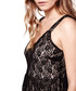 Black & nude babydoll midi dress Sale - yumi Sale