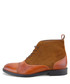 Saxon tan brown leather ankle boots Sale - paolo vandini Sale