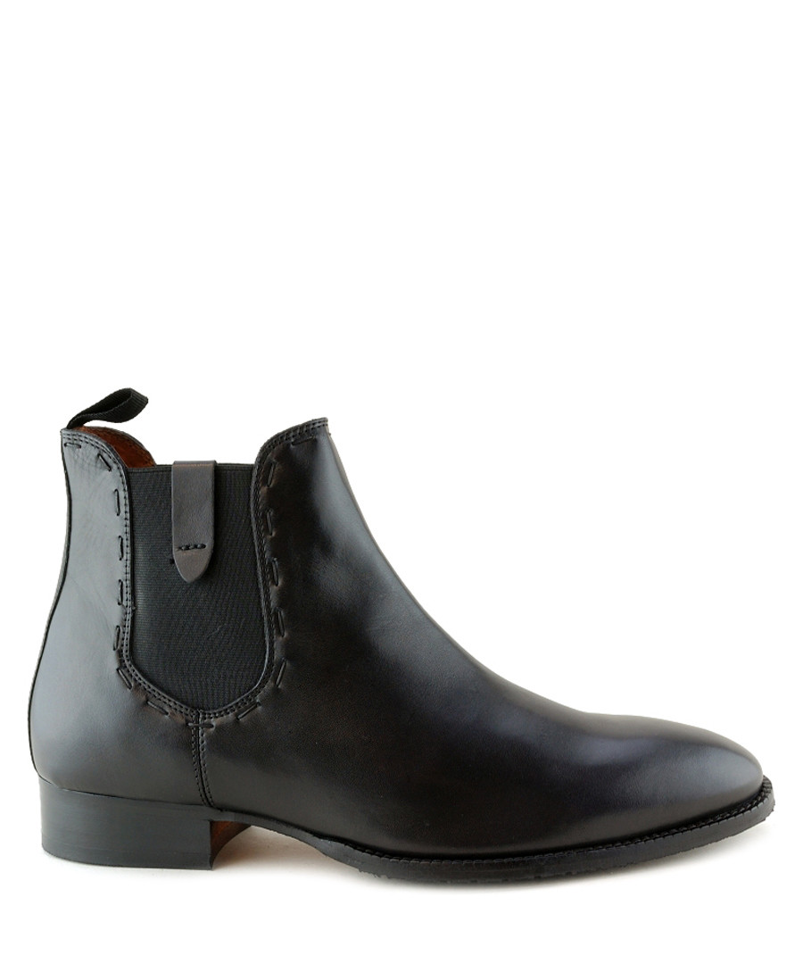 Sandro black leather ankle boots  Sale - Paolo Vandini