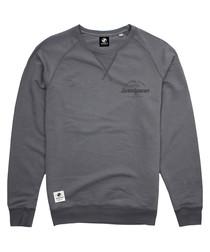 Durable Goods grey cotton blend hoodie