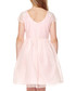Girl's Soft pink flared skirt prom dress Sale - yumi girls Sale