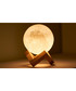 3D moon light & wood stand set Sale - Moon light Sale