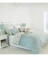 Chatsworth blue cotton single duvet set Sale - riva paoletti Sale