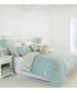 Chatsworth blue cotton double duvet set Sale - riva paoletti Sale