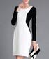 Black & white knee-length dress Sale - Vogue.Va Sale