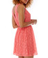 Coral lace day dress Sale - yumi Sale