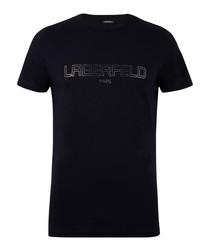 Black pure cotton Tshirt
