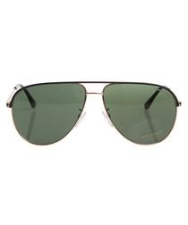Erin black & green sunglasses