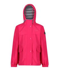 Betulia hot pink hooded jacket