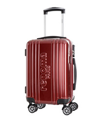 Harrison red spinner suitcase 48cm