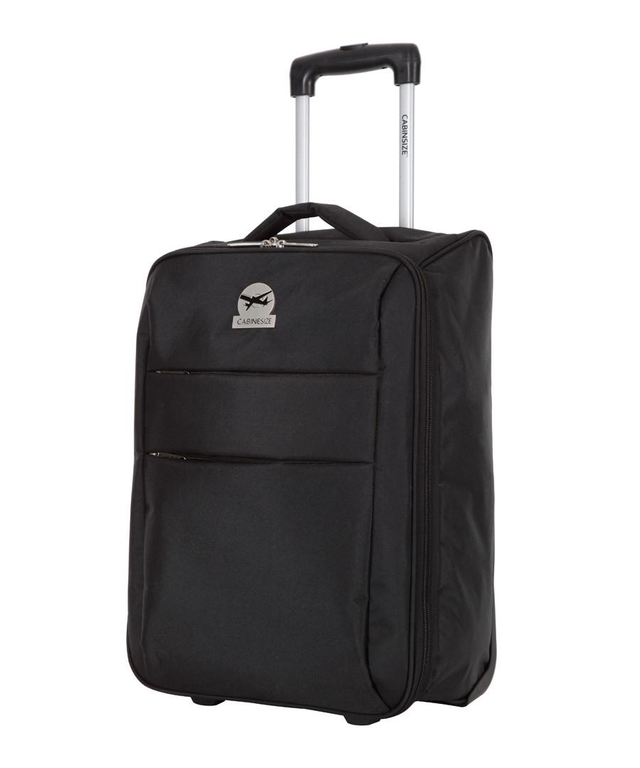 Andalus black suitcase 50cm Sale - cabine size