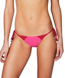 Savannah oink tie side bikini briefs