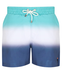 Marco blue & white ombre trunks