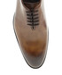 Walnut brown leather Oxford shoes Sale - Bramosia Sale