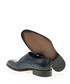 Navy blue leather monk strap shoes Sale - Bramosia Sale