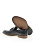 Navy blue leather loafers  Sale - Bramosia Sale
