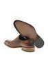 Tan brown leather slip-on shoes Sale - Bramosia Sale