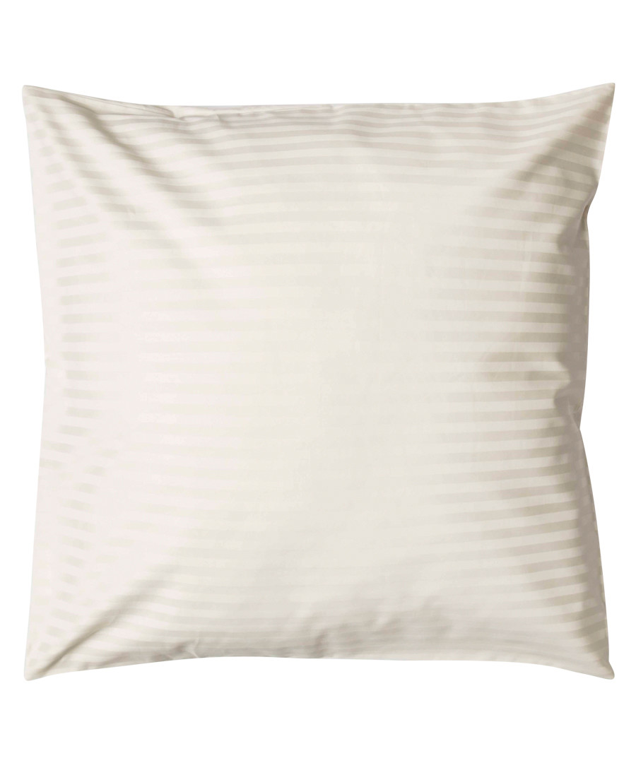 Ivory 540TC cotton square pillowcase Sale - belledorm