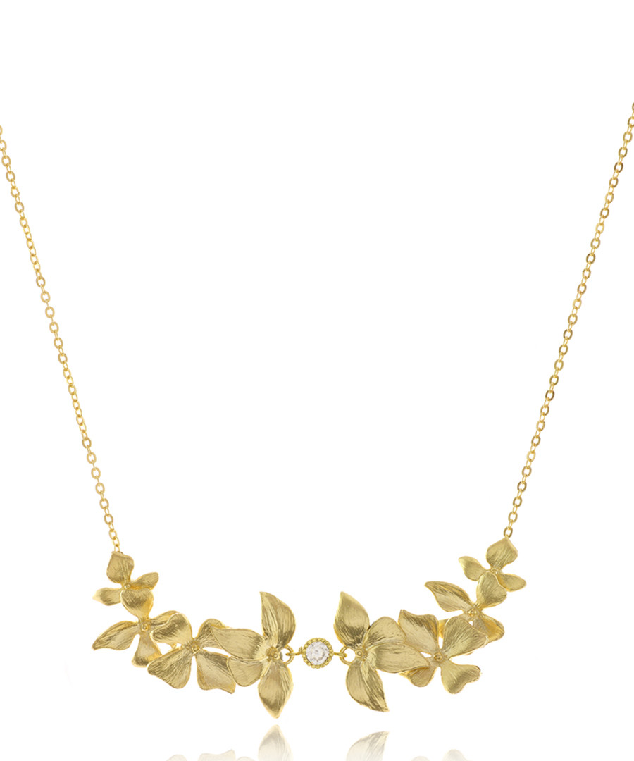 Goldfields 14ct gold-plated necklace Sale - Divine Gaia