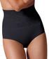 Black floral high-waist shaping briefs Sale - controlbody Sale