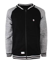 Target black contrast sleeve jacket
