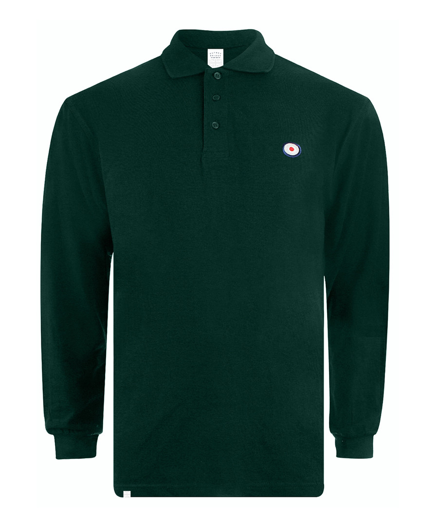 Target bottle green cotton polo shirt Sale - putney bridge