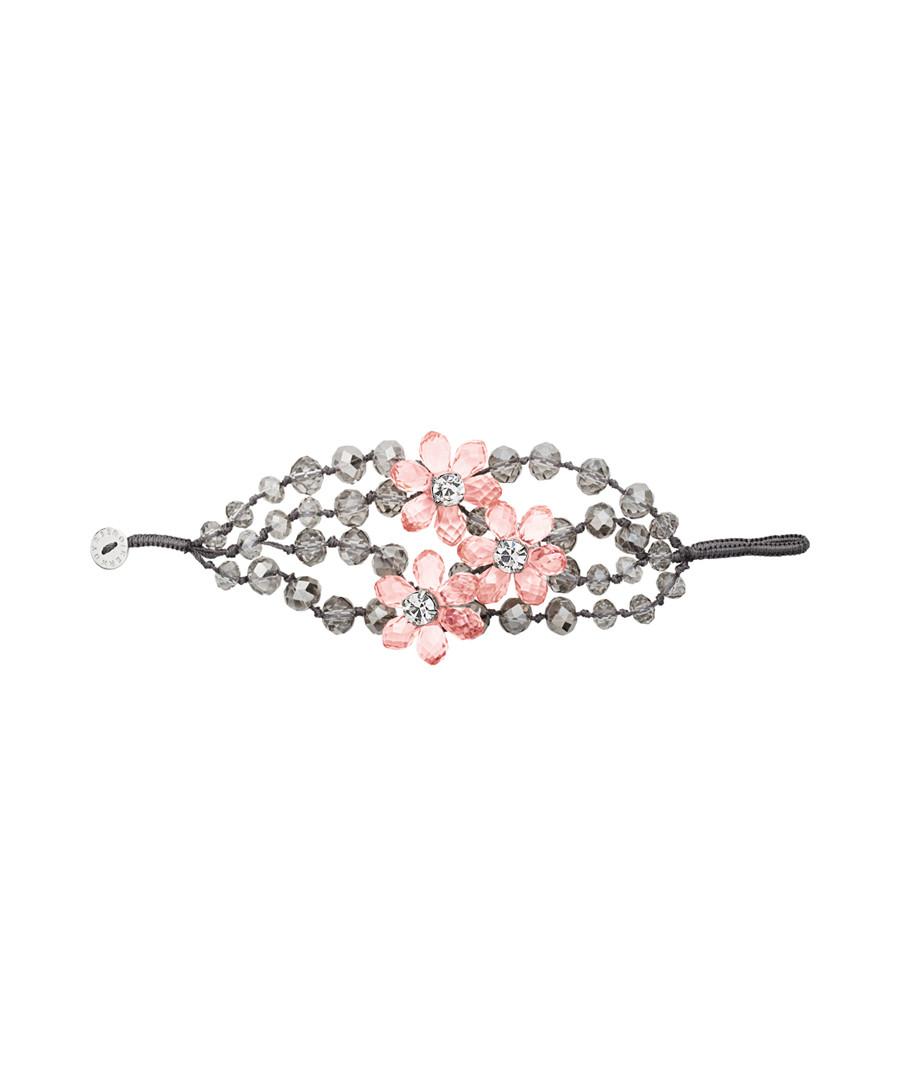 Treasa grey & pink bracelet Sale - dyrberg/kern