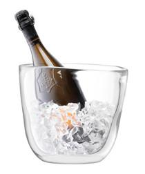 Celebrate glass champagne bucket