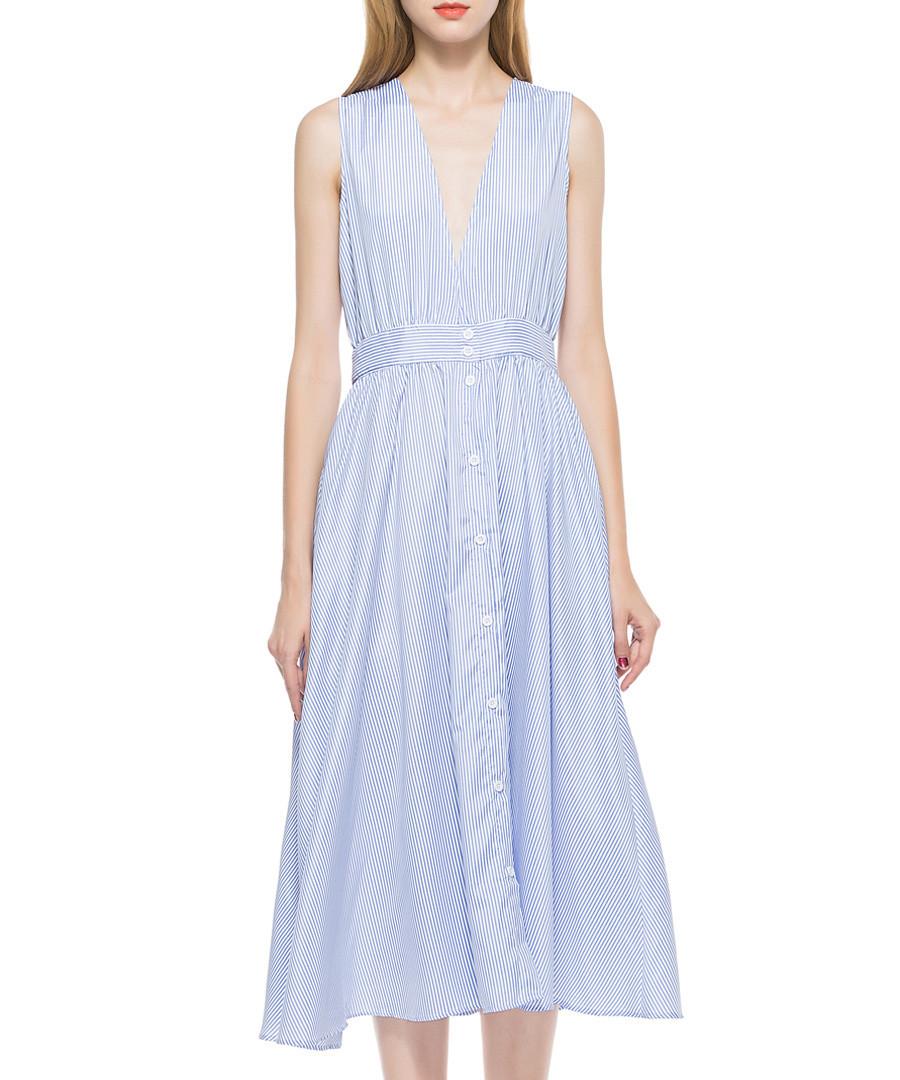 Light blue sleeveless dress Sale - SkoonheiD