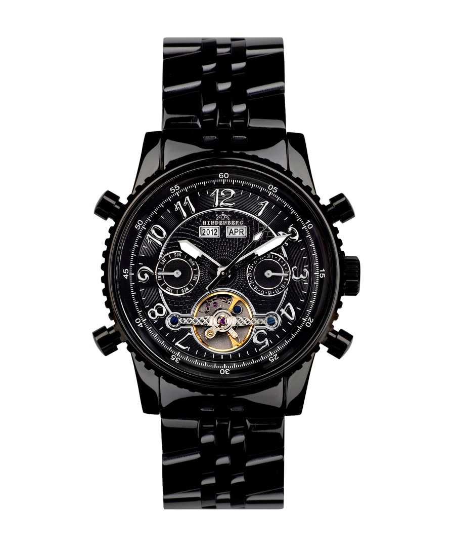 Air Pro all-black steel watch Sale - hindenberg
