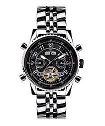 Air Pro black dial watch
