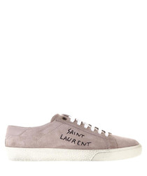Court rose suede sneakers