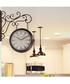 Brown vintage-style garden wall clock Sale - Walplus Sale