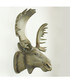 Taxidermy natural-tone moose head hanger Sale - Walplus Sale