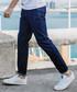 Blue cotton blend jeans Sale - kuegou Sale
