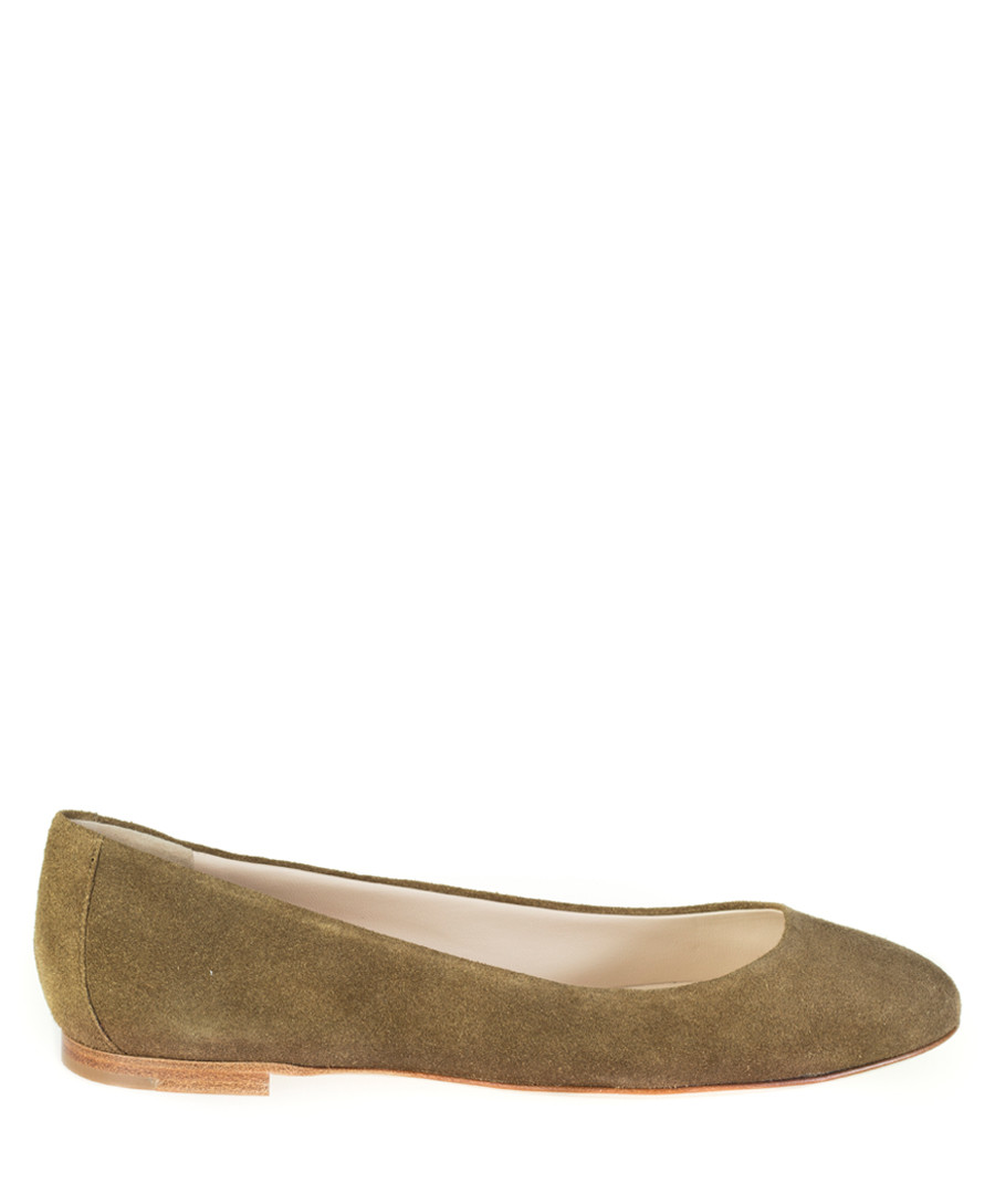 Crosta beige leather ballet shoes Sale - sergio rossi