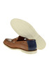 Tobacco leather moccasins Sale - Baqietto Sale