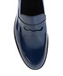 Navy leather slip ons Sale - Baqietto Sale